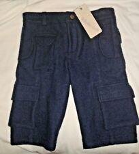 NWT Kico Kids ANTHROPOLOGIE Boys Size 3/4 Inkwell Jersey Cargo Bermuda Shorts