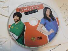 Chuck First Season 1 Disc 3 DVD Disc Only 60-154