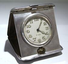 BLACKINTON Sterling Silver Travel Clock Concord Watch HIALEAN Club Chas Shelden