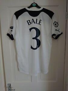 TOTTENHAM Hotspur Spurs Gareth Bale Champions League 2010/2011 Shirt Jersey - L