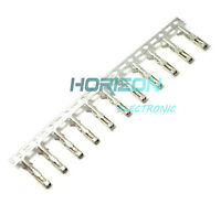 100Pcs Dupont Jumper Wire Cable Housing Female Pin Connector Terminal 2.54mm Top