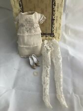 Timid Tan PARTIAL OUTFIT - Tonner Ellowyne Wilde doll fashion - used shoes dress