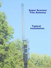 New! Super Scanner Two, Base Antenna New! 20' coax, 4 Separate Antennas Inside!