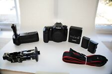 Canon EOS 70D 20.2MP Digital SLR Camera with battery Grip - Black (Body Only)