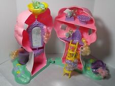 1986 Lady Lovely Locks - Pixietails Treehouse playset and 9 MISFIT PIXIES