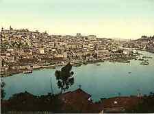 Porto. Vista geral. Photochrome original d'époque, Vintage photochrom, P.Z.