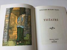 Livre de Collection Prix Nobel Littérature 1923 WILLIAM YEATS Théâtre