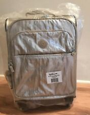 Kipling GLEAMMING GOLD METALLIC Parker Small Wheeled Carry-On Luggage, NEW