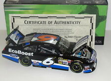 2012 #6 Ricky Stenhouse Ford Ecoboost 1/24 Autographed Diecast Signed