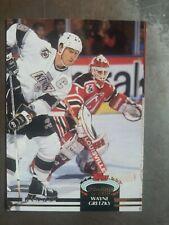 MISPRINT 1992-93 Topps Stadium Club Wayne Gretzky #18