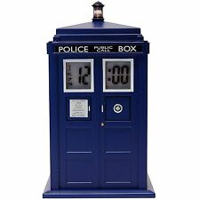 DOCTOR WHO 11TH DR TARDIS PROJECTION DIGITAL ALARM CLOCK ELECTRONIC LIGHT SOUND
