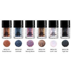 "1 NYX Metallic Glitter Loose Powder - MGLI ""Pick Your 1 Color"" *Joy's cosmetics*"