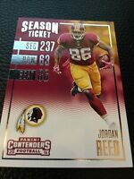 Jordan Reed Redskins 2016 Panini Contenders #11