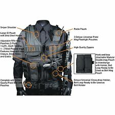 Wilderness Survival Gear Security Personnel Jacket Weapon Holder Tactical Assaul