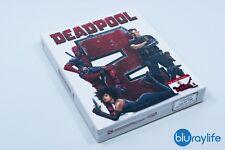 DEADPOOL 2 Blu-Ray Steelbook Limited Edition Filmarena Edition 1 Full Slip