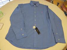 Men's Polo Ralph Lauren shirt button up Aerial Blue 689004 Mclassics4 NEW XXL