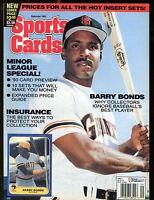 Sports Cards Magazine September 1993 Barry Bonds w/Mint Cards jhscd5
