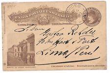 S278 1902 Uruguay *MONTEVIDEO* Postal Stationery {samwells-covers}PTS