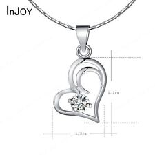 Family Friends Crystal Heart Costume Necklaces & Pendants