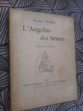 Michel Abadie L'angelus des sentes 1901 poète naturiste RARE