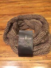 D&Y Women's Knit Taupe Single Loop/ Muffler- NEW