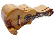 Acoustic Guitar handmade Beachwood Pic Box