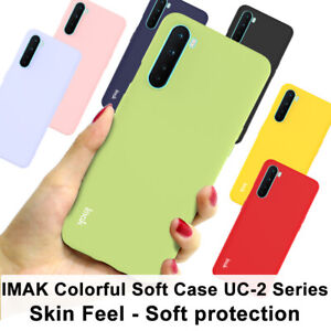 For OnePlus Nord Case IMAK Slim Colorful Colour Silicone Soft Gel TPU Back Cover