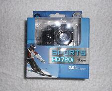 "Camara deportiva Sports HD 720i DV 2.0"" LCD 100º Wide Angle Lens Waterproof"