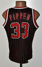 NBA CHICAGO BULLS BASKETBALL SHIRT #33 PIPPEN CHAMPION SIZE M ADULT