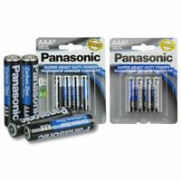 8 Wholesale Panasonic AAA Triple A Batteries heavy Duty Battery 1.5v ALot