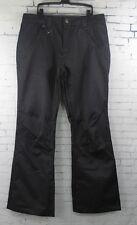 New Bonfire Mens Morris Ski and Snowboard Pants Large Black Denim