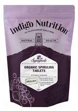 Orgánica Spirulina comprimidos - 1000-índigo Hierbas