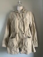Women's Mossimo Supply Co. Utility Jacket, Khaki, Large