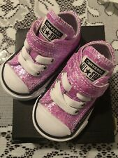 Converse Infant Size 2 Sneakers
