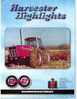 International Harvester 2+2 Tractors, IH 4wd row crop tractors 3388 to 7488