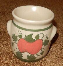 PUMPKIN POTTERY TEA LIGHT SCENT TART WARMER