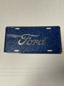 ~Ford Blue~ Embossed Metal License Plate ~Ford Car Truck Auto