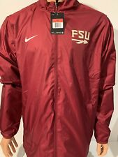 NEW Florida State Seminoles FSU Nike Large L Jacket Full Zip Team Issued NCAA