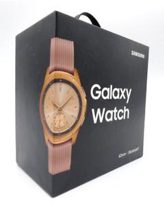 Samsung Galaxy Watch R810 42mm rosegold Smartwatch Fitness Tracker GPS WLAN OVP