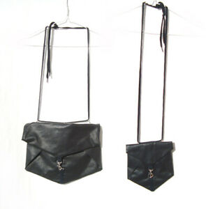 NOM*D nom d Black Nylon Pouch Purse Bag x 2 Medium + Small Zambesi Sister Label
