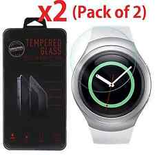 2-PACK Tempered Glass Protector for Samsung Gear S2 / S2 Classic Smart Watch