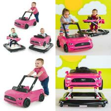 Ford Mustang Baby Walker Three Modes Rubber Feet Adjustable Height Baby Aids