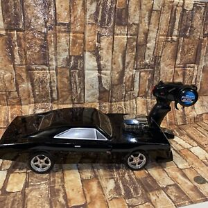 Jada Toys FAST & FURIOUS Dom's Dodge Charger R/T soft shell 1:12 scale RC 97482