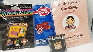 Name Brand Novelty Lapel Pins 4.2lb Lot DY196
