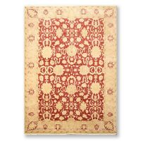 "5'11"" x 8'10"" Hand Knotted Oushak Wool Oriental Area Rug Traditional"