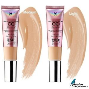 IT Cosmetics CC+ COLOR CORRECTING FULL COVERAGE CREAM + SERUM SPF50