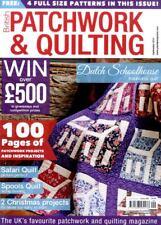 Revista Patchwork & Quilting #260 - 2 proyectos, Safari Edredón de Navidad