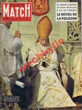 Paris Match n°404 du 05/01/1957 Pologne Wyszynski Callas Marylin Woolf Suez