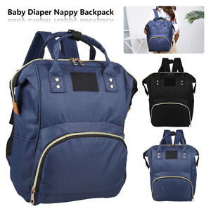 Diaper Backpack Baby Nappy Multi-Use Large Bag Mummy Mom Changing Travel 2021