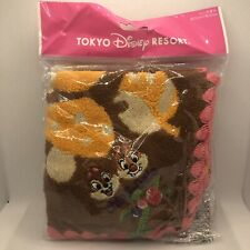 NEW Tokyo Disney Resort Japan Chip And Dale Face Towel / Washcloths